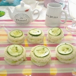 Summer Tea Time Mini Sandwiches
