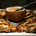 Coconut and Peanut Butter Chicken Satay