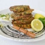 Lemon and Herb Zucchini Fritters
