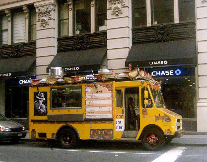 Food Truck in NYC la maison du monde