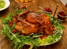 Thanksgiving Pt. 2 – Roast Turkey with Chestnut Stuffing
