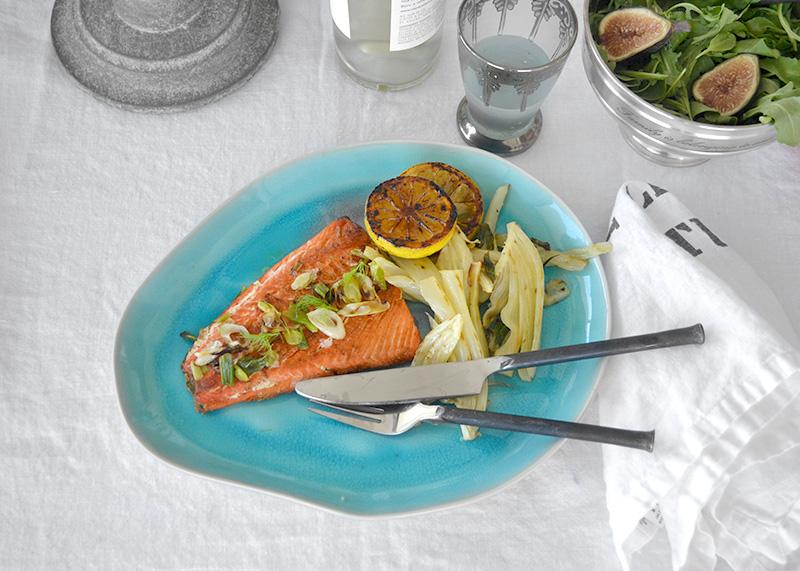 Salmon with Fennel 1 La Maison du Monde
