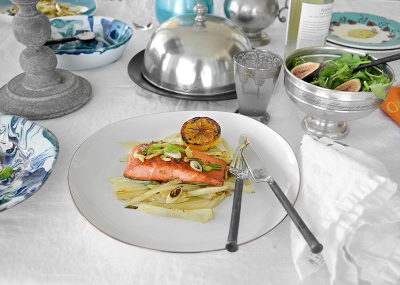 Salmon with Fennel 3 La Maison du Monde
