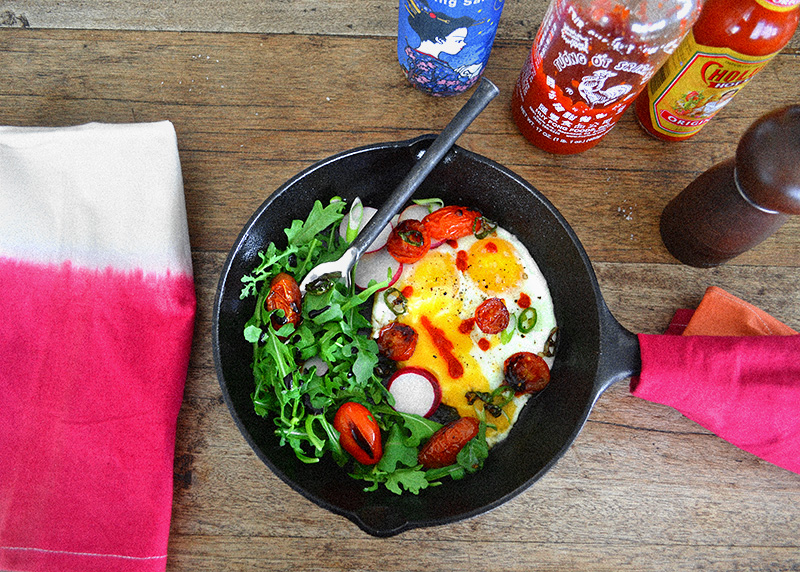 Skillet Eggs for a Lazy Sunday - La Maison du Monde