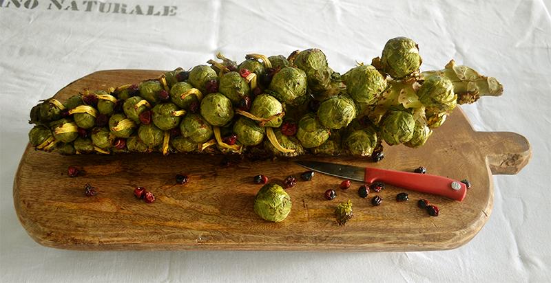Roasted Brussels Sprouts 11 La Maison du Monde