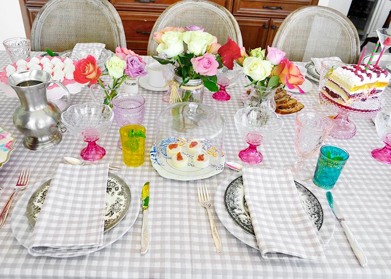 Mother's Day Brunch and Tea Time Finger Sandwiches 01 La Maison du Monde