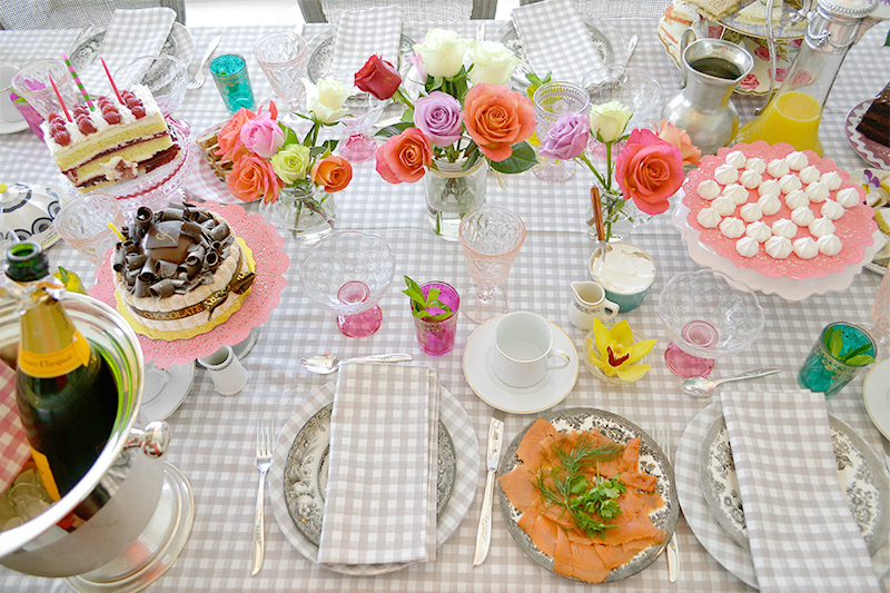 Mother's Day Brunch and Tea Time Finger Sandwiches 03 La Maison du Monde