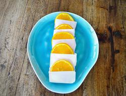 frozen orange slices