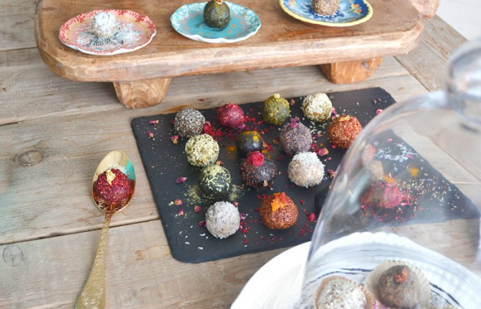 Vegan Bonbons: Dancing Energy Bite Protein Balls